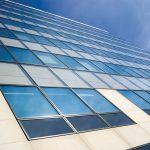 Aluminium Panels on a building
