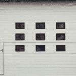 Industrial Doors with panels