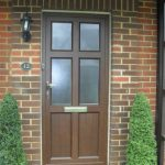 Picture of front door at home.